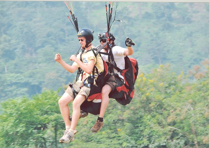 Kwahu Easter Paragliding festival