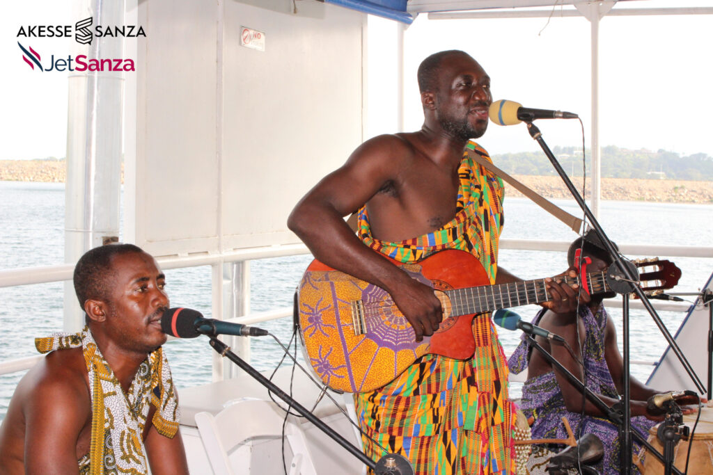 Kwanpa Band, a VGMA award-winning band on Dodi Princess II