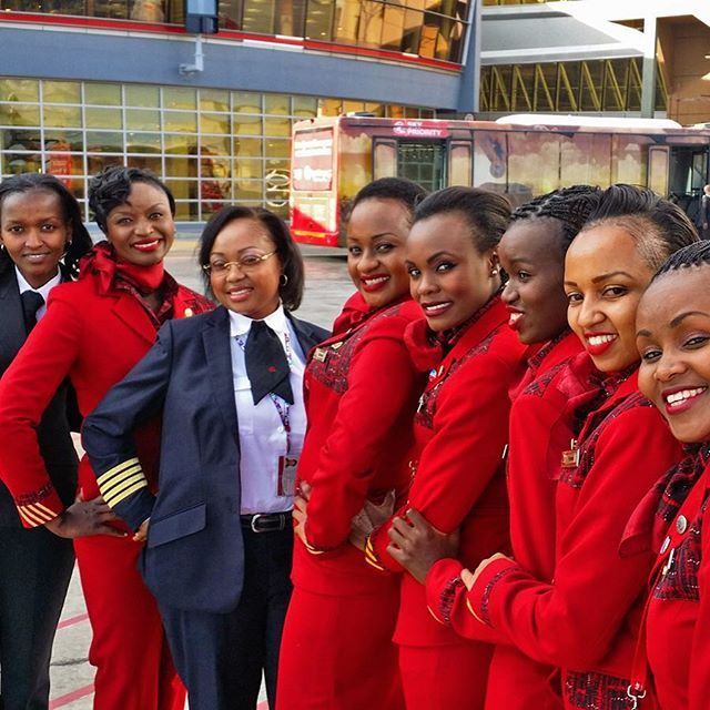 Kenya Airways Cabin Crew